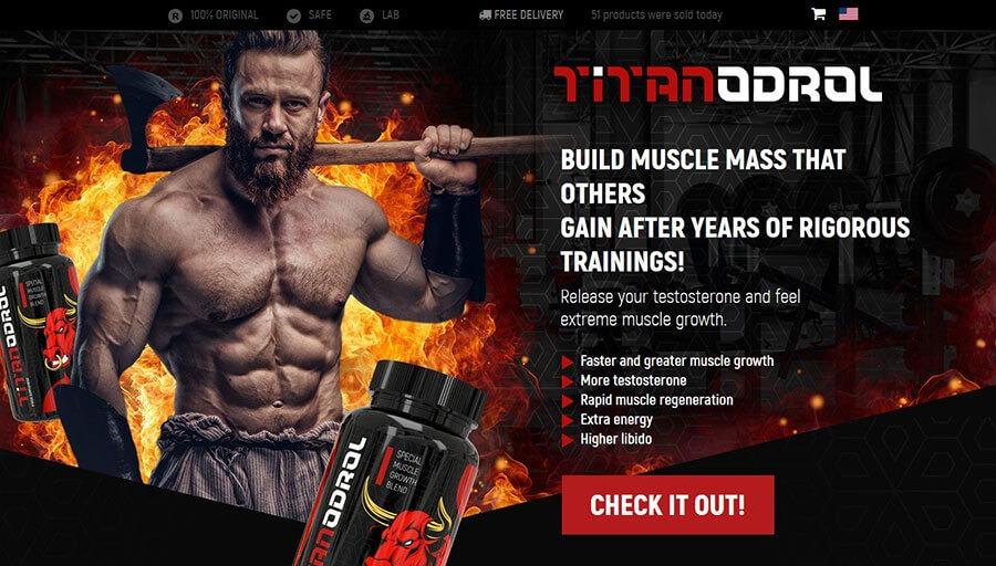 Titanodrol Official Website