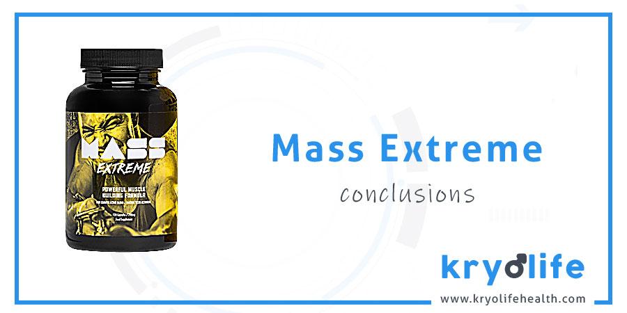 Avis sur Mass Extreme : Conclusions