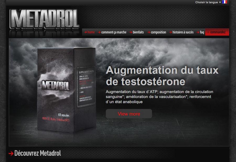 metadrol site officiel