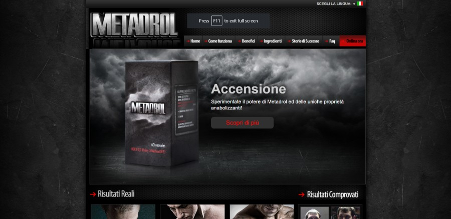 Metadrol Official Website