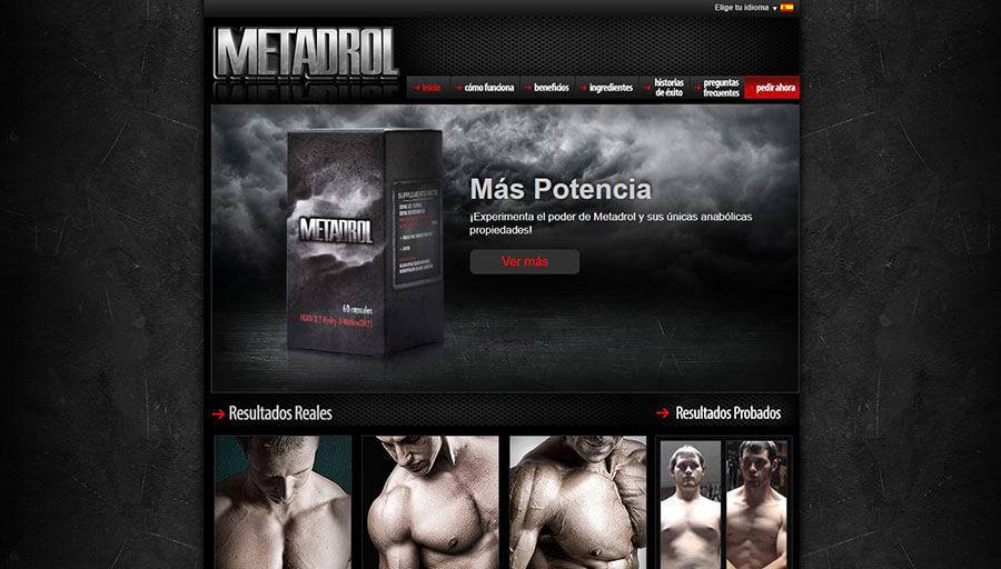 Sitio web oficial de Metadrol