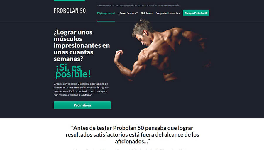 Sitio web oficial de Probolan 50