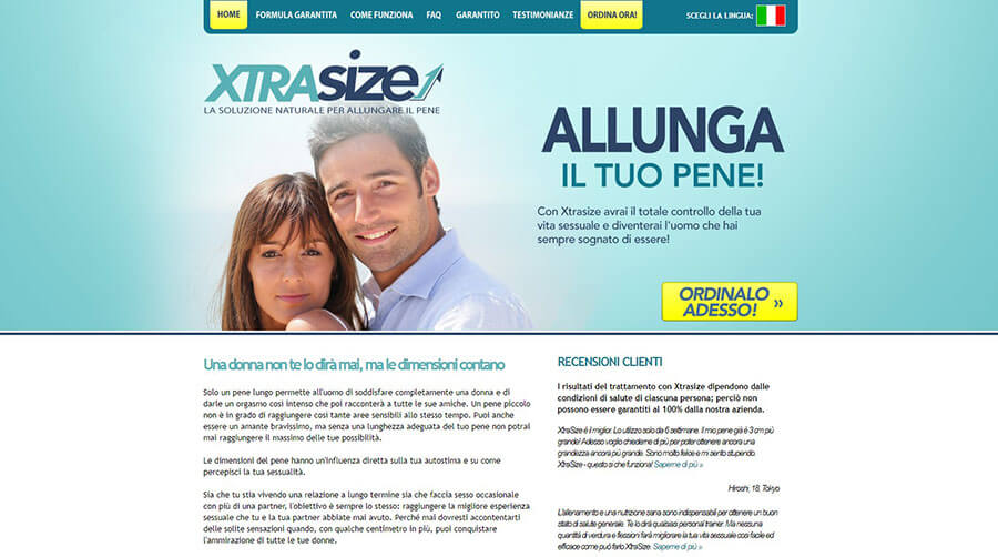 XtraSize Official Website
