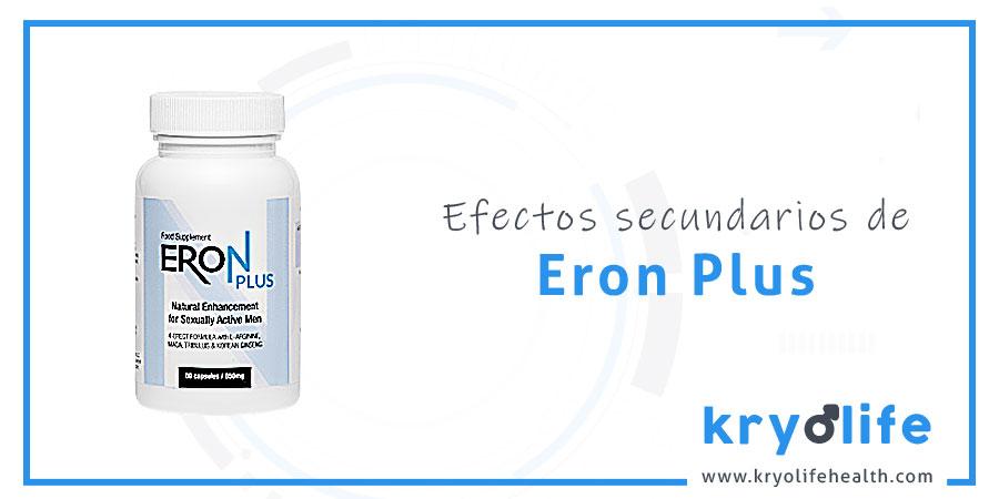 Efectos secundarios de Eron Plus