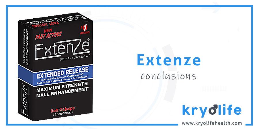 Avis sur ExtenZe : Conclusions
