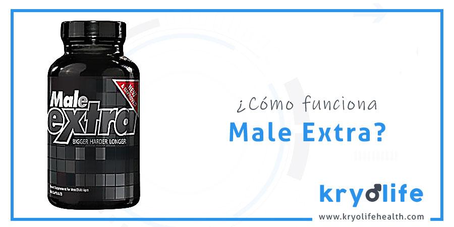 ¿Cómo funciona Male Extra