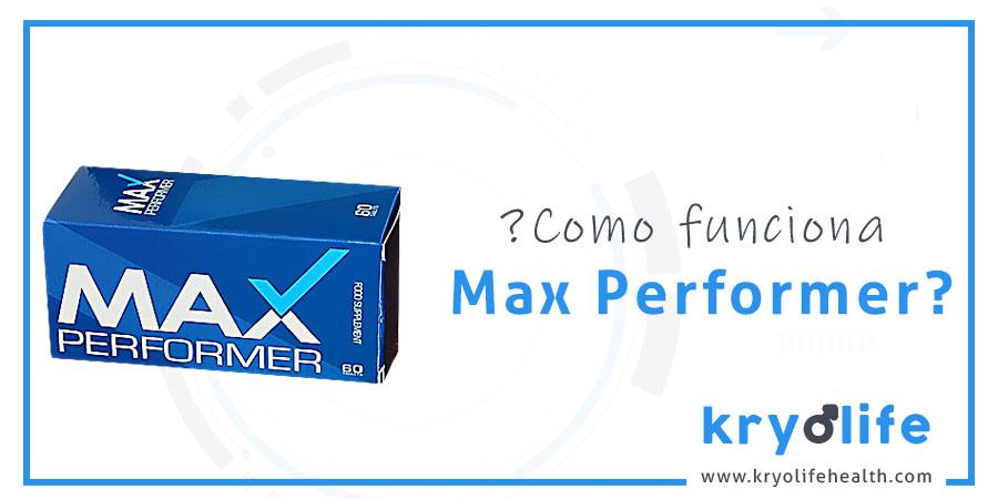 ¿Cómo funciona Max Performer