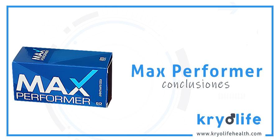 Opinión sobre Max Performer: conclusiones