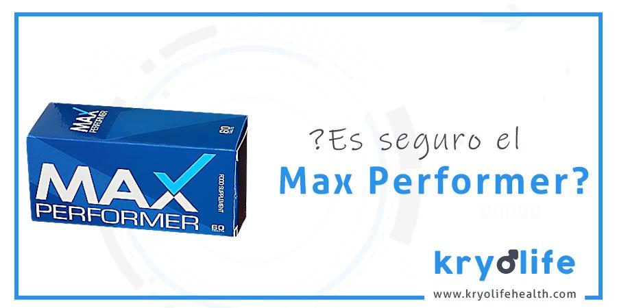 ¿Es seguro Max Performer