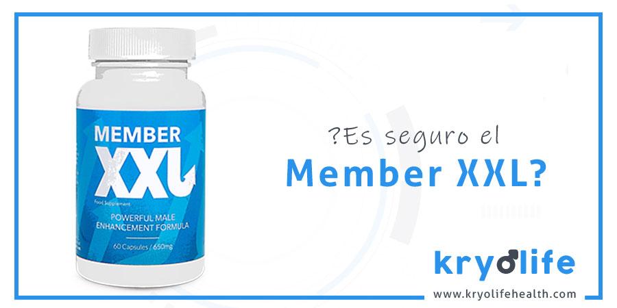 ¿Es seguro Member XXL