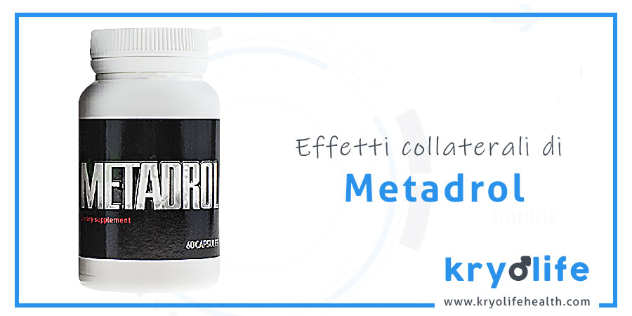 Effetti collaterali di Metadrol