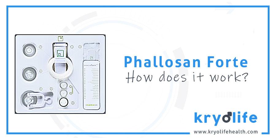 How does Phallosan Forte work