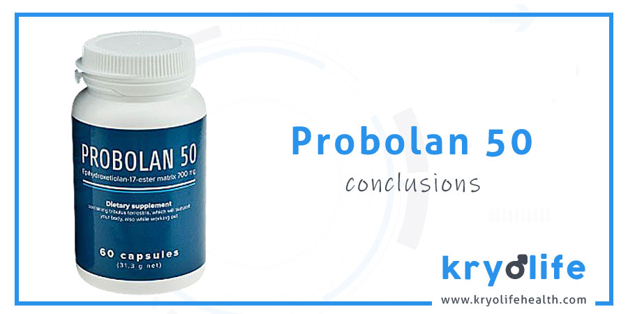 Avis sur le Probolan 50 : Conclusions