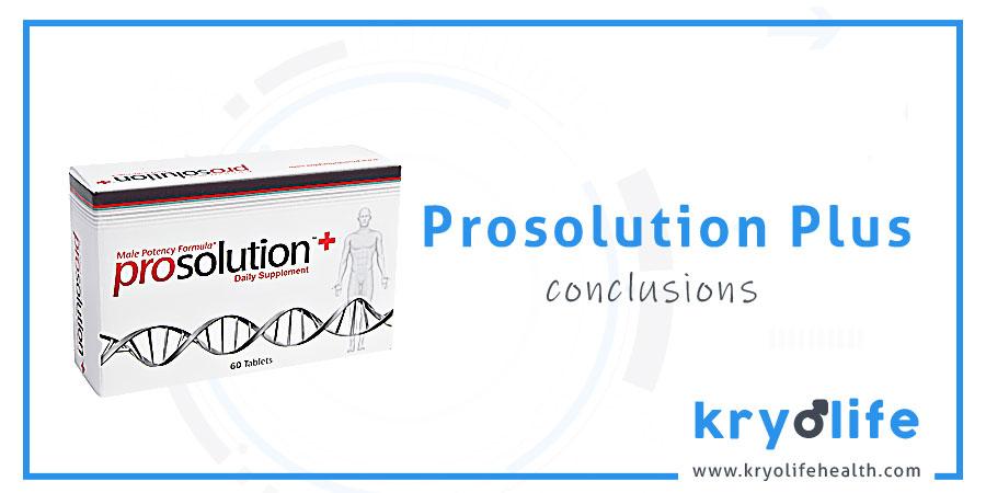 Avis sur Prosolution Plus : Conclusions