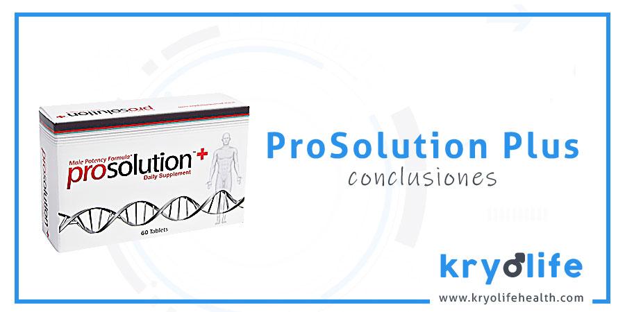 Opinión sobre Prosolution Plus: conclusiones