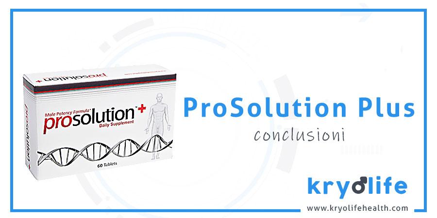 Prosolution Plus review: conclusioni