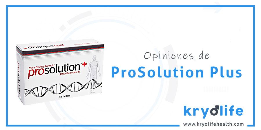 Opiniones sobre Prosolution Plus
