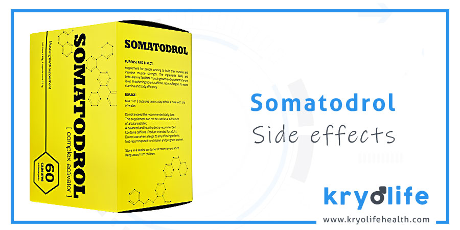 Somatodrol side effects