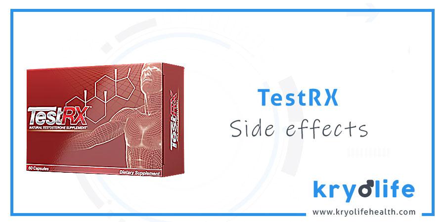 TestRX side effects