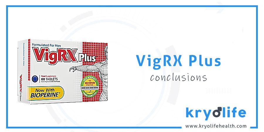 Avis sur VigRX Plus : Conclusions