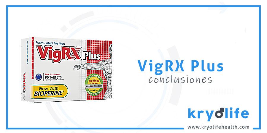 Opinión sobre VigRX Plus: conclusiones