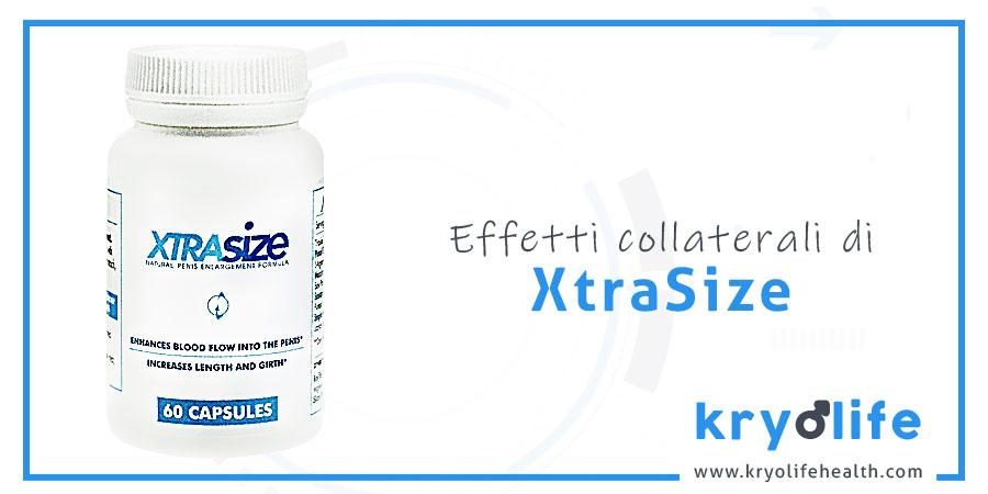 Effetti collaterali di XtraSize