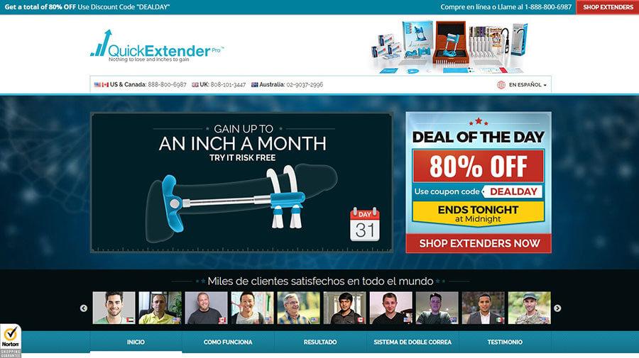 Quick Extender Pro Official Website