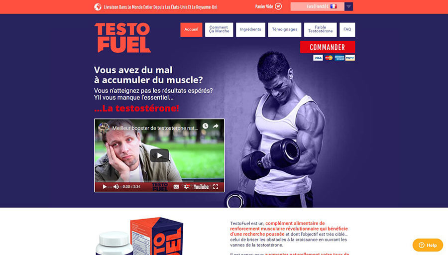 TestoFuel Official Website