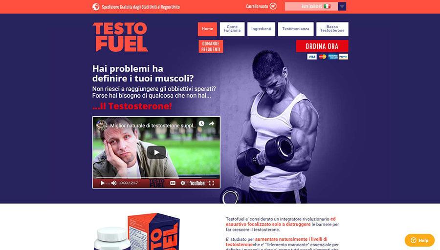 TestoFuel Official Website