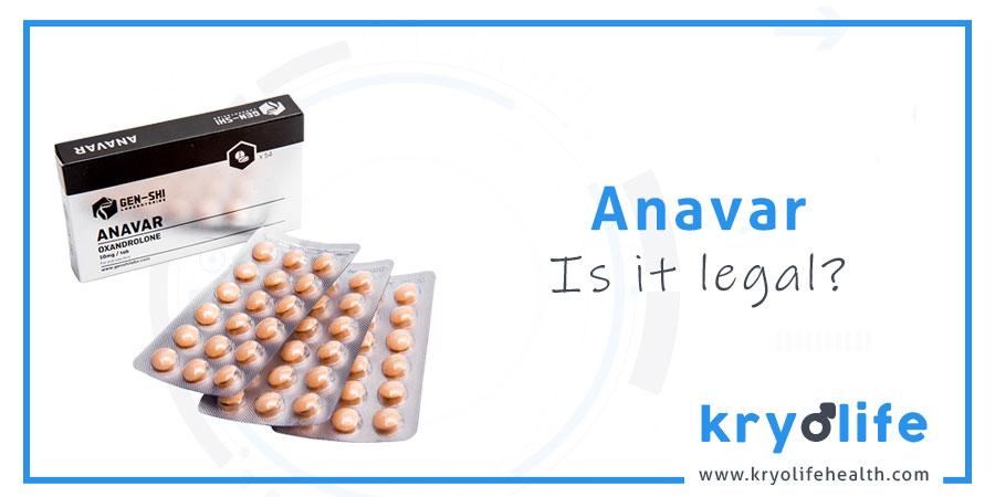 Is Anavar legal