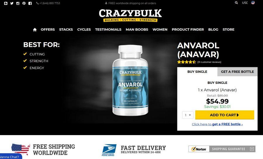 Anvarol official website