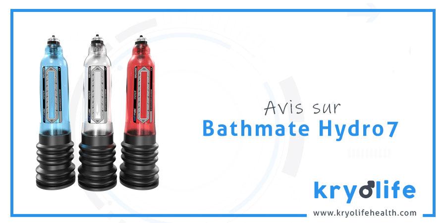 Avis sur Bathmate Hydro7