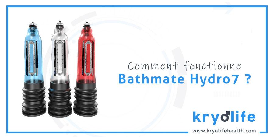 Comment fonctionne Bathmate Hydro7