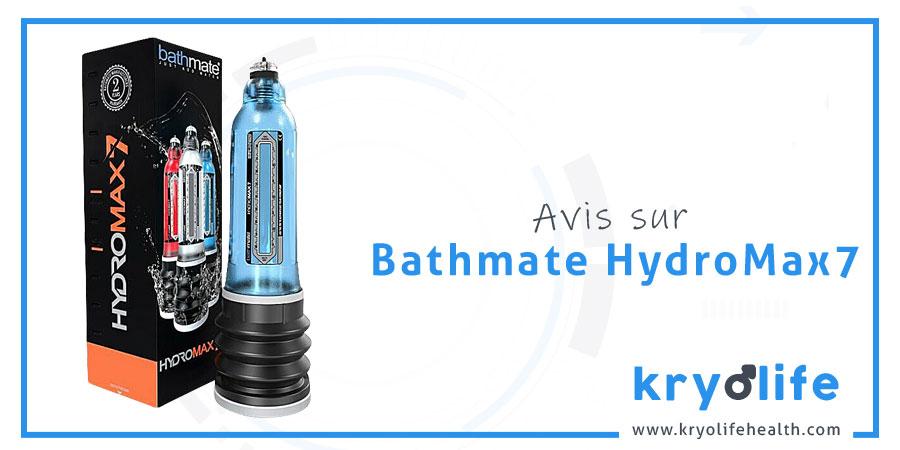 Avis sur Bathmate Hydromax7