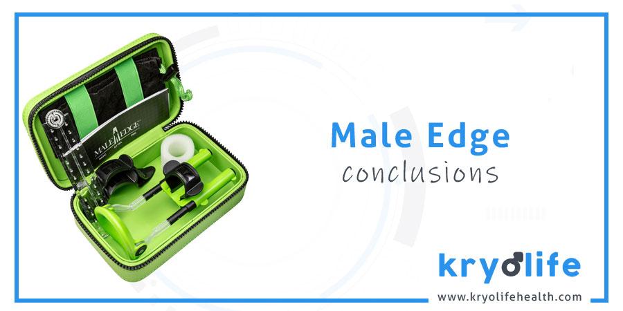 Avis sur Male Edge : conclusions