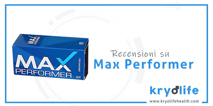 Recensioni di Max Performer