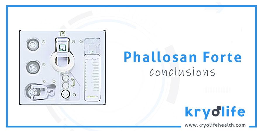 Avis sur Phallosan Forte : conclusions