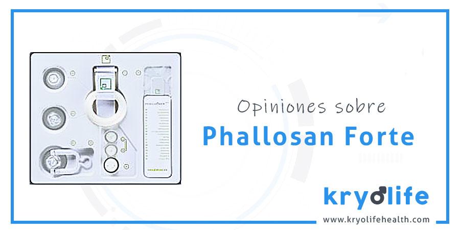 Phallosan Forte Opiniones