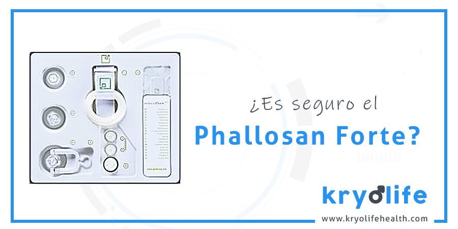 Es seguro Phallosan Forte