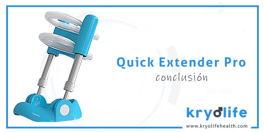 Opinión sobre Quick Extender Pro: conclusión