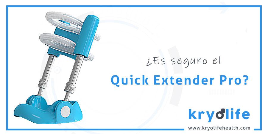 Es seguro Quick Extender Pro