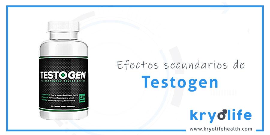 Efectos secundarios de Testogen