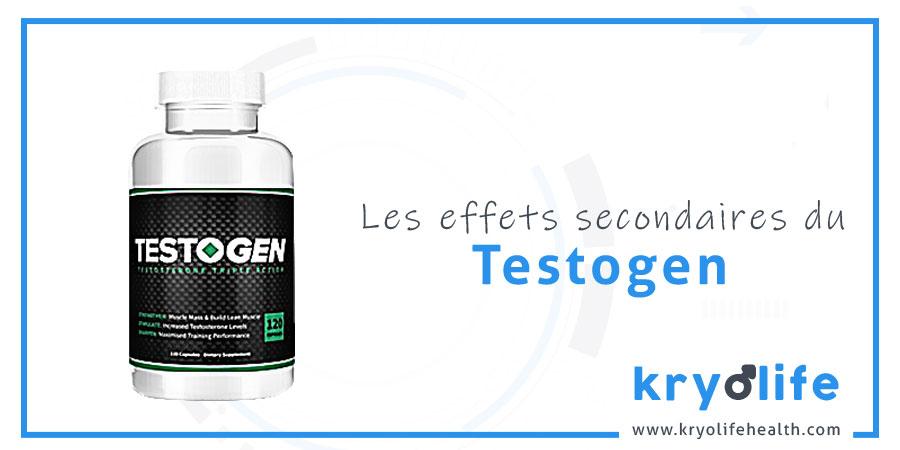Les effets secondaires de Testogen