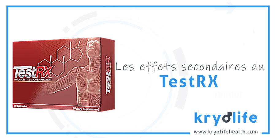 Les effets secondaires de TestRX