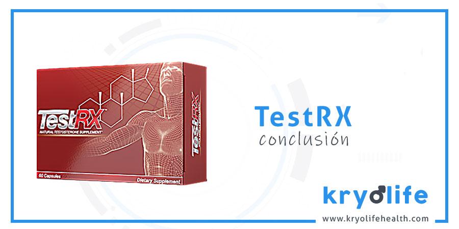 Opinión sobre TestRX: conclusiones