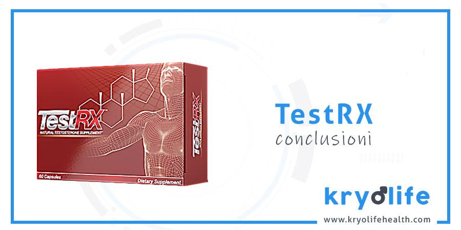 Recensione di TestRX: conclusioni