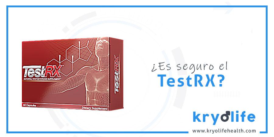 ¿Es seguro TestRX?